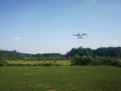 Spraying Crops with Drones