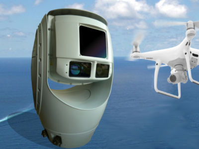 SPYNEL Panoramic Detection Cameras Equipped with the Newest CYCLOPE Hypervisor for Protection against Drones