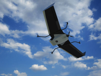 FlyTech UAV presents the 2 in 1 VTOL update to their surveying fixed-wing BIRDIE