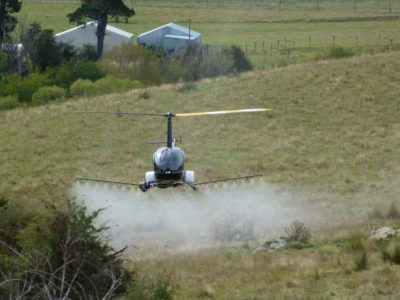 UAVOS Unmanned Helicopter Robinson for Precision Farming