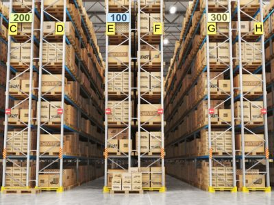 Very Narrow Aisle (VNA) Inventory Counts using Drones in Warehouses & Distribution Centers