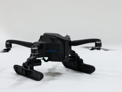 Debut of First Football-sizeTransformable Drone