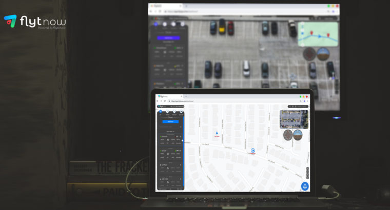 FlytNow Offers Ultra Low Latency for Drone Video Streams and Remote Fleet Management over 4G/5G