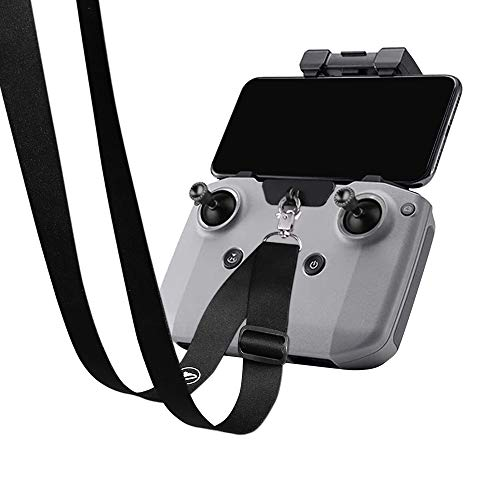 Arzroic Skin-Friendly Lanyard Adjustable Hanging Neck Strap with Clip/Mount for DJI Air 2S, Mavic Mini 2, Mavic Air 2 and FPV Remote Controller Accessories