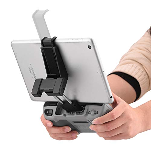 HeiyRC Adjustable Tablet Extended Bracket Holder for DJI Mini 2/Mavic Air 2/Air 2S Drone Remote Controller 7-10 Inch Tablet Clip Stand Mount Extender for iPad Mini/Air Accessories